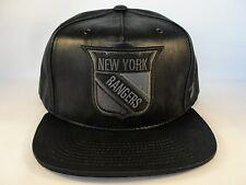 NHL New York Rangers Zephyr Snapback Hat Cap Black Dynasty
