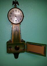 Antique session banjo clock