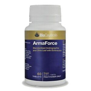 Bioceuticals Armaforce *choose size* 30, 60, 120 tablets Immune Booster Cold Flu