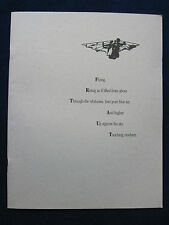 Original Souvenir Program for BIRDY - MATTHEW MODINE, NICOLAS CAGE Film
