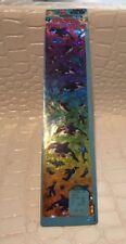 NIP Vintage Lisa Frank Holographic Rainbow Crystal Stickers DOLPHINS PENGUINS