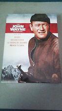 "DVD ""THE JOHN WAYNE COLLECTION PACK"" PRECINTADO DIGIPACK 4 DVD HATARI, INFIERNO"