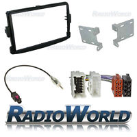 Dacia Dokker Double Din Car Stereo Radio Fitting Kit Fascia ISO Aerial Adaptor