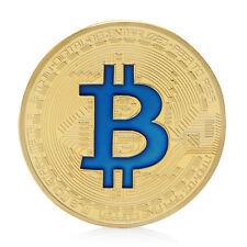 Bitcoin Coin Münze Mining Miner Medaille Sammelmünze 9 Farben Neu