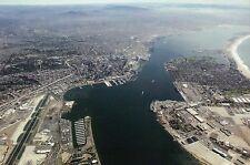 U.S. Naval Air Station North Island & Naval Base San Diego California - Postcard