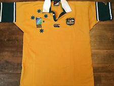 2003 Australia World Cup Rugby Union Shirt Adults XL Wallabies Jersey