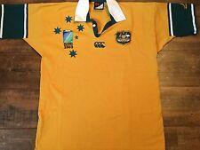 2003 Australia World Cup Rugby Union Shirt Adults XL Wallabies Jersey