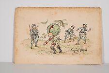 Jeux d'enfants Bataille Marrons Glacés F CHAMOUIN Guerre Franco-Allemande 14/18