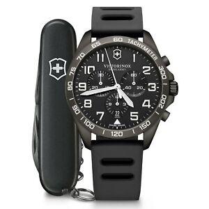 Victorinox Swiss Army Watch Fieldforce Sport Chrono Quartz Black Watch 241926.1