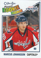 10-11 OPC O-Pee-Chee Marcus Johansson RC Rookie Card Marquee Rookie #511 Mint