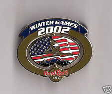 Hard Rock Salt Lake City Olympics 02 spinner pin LE
