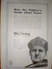 Wolsey Wool underwear UK advert 1918