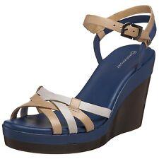 Rockport Monica Strap Chaussures Femme 39 Sandales Espaderilles Compensé UK6 New