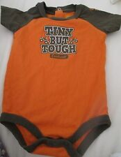 6M  Carhart Kids Carhart Tiny But Tough Body Suit One Piece