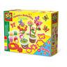 SES CREATIVE Children's Aroma Glitter Play Dough Flower and Butterflies Set