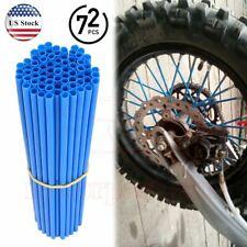 72PCS Universal Wheel Spoke Wraps Motorcycle Cover Pipe Skins Rim For Yamaha US