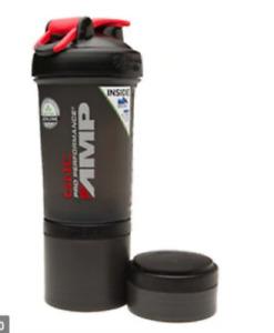 NWT GNC Pro Performance AMP ProStak Blender Bottle - Expansion Pak