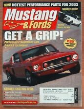 MUSTANG & FORDS 2003 MAR - SUSPENSION & STEERING