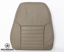 1999 Ford Mustang Cobra SVT V8 -Driver Side LEAN BACK Leather Seat Cover Tan