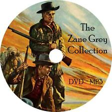 Zane Grey Western Audio Book Collection on 2 MP3 DVD Purple Sage Trail FREE SHIP