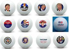 1 Dozen Donald Trump Complete Set Collection Titleist Pro V1 Mint Golf Balls