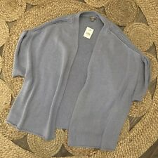 J Jill Womens Size XL Forget Me Open Front Sweater Cardigan Periwinkle J11