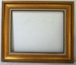 VINTAGE GREAT QUALITY GILT FRAME FOR PAINTING  20 X16 INCH OUTSIDE 27 X 23 INCH