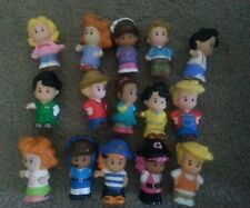 Fisher Price Little People Skinny Current Style lot of 15