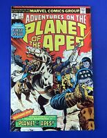 PLANET OF THE APES #1 COMIC BOOK ~ 1975 MARVEL BRONZE AGE ~ FN