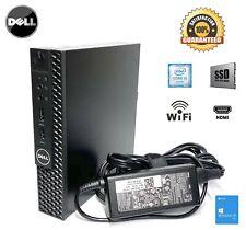DELL Desktop OptiPlex 3050M Mini i5-6500T 8GB 256SSD Win10 Pro AC WiFi Adapter