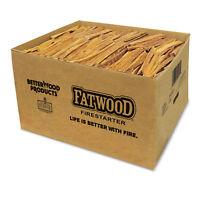 Betterwood Products 9925 Natural Pine Hand Split Fatwood 25 Pound Firestarter