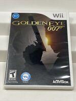GoldenEye 007 (Nintendo Wii, 2010) Video Game Complete