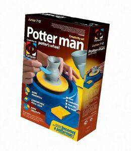 ELF217004 - Fantazer - Potter Man - Potters Wheel  .  Tea set