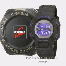Authentic Casio G-Shock Men's Mudman Black and Purple Digital Watch G9000BP-1