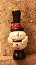 Eddie Walker * Midwest of Cannon Falls * Pudgy Snowman ornament