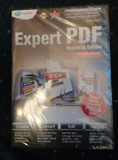 Avanquest Expert PDF Editing business edition 3 users license (DVD)  sealed