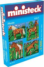 Ministeck Pixel Puzzle (31301): Horses with backgrounds (4in1) 3500 pieces