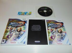 SoulCalibur Soul Calibur Legends   Nintendo Wii Wii U   PAL   Complete