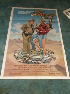 "SMOKEY AND THE BANDIT II(1980)BURT REYNOLDS ORIGINAL ONE SHEET POSTER 27""BY41"""