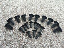 Árbol de abeto Honda Plástico A Presión Remache Clips Parachoques Ajuste Cuerpo Panel Retenedor de 10PCS