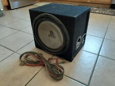 "12"" JL Audio subwoofer with Amp Pioneer class d gm-d7400m"