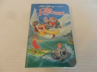 The Rescuers (VHS, 1992) Clam Shell, Black Diamond Issue