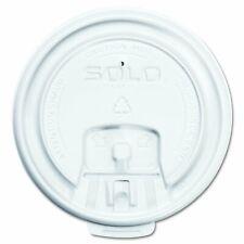 Solo Lb3081-00007 8 Oz. Liftback & Lock Plastic White Lid 1000-Pack