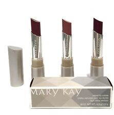 MARY KAY CREAM LIPSTICK~VELVET LIP CREME~YOU CHOOSE~NUDE~BERRIES~BROWN~BEAUTY!