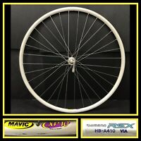 Mavic CXP10 700c Front Bicycle Wheel Quick release, Shimano RSX Hub,  Road Bike