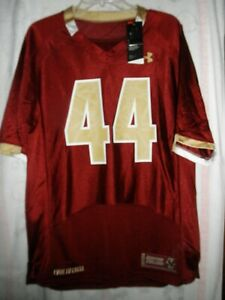 UNDER ARMOUR BOSTON COLLEGE EAGLES FOOTBALL JERSEY, MEN'S SIZE SMALL, NWT'S