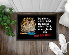 Fußmatte Schmutzfangmatte Türmatte Perser Katze Kätzchen Spruch Geschenk