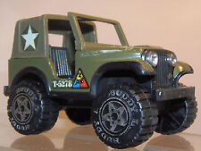 Vintage Buddy L Army  T-5278  Toy Truck Jeep, 1970s