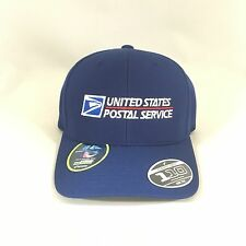 USPS Flexfit Cap 110 Cool&Dry Mini Pique United States Postal Service Hat Navy