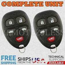 2 for 2005 2006 2007 2008 2009 Pontiac Montana Keyless Entry Remote Key Fob 020